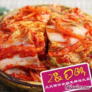 广东妹子第一次网购韩国泡菜