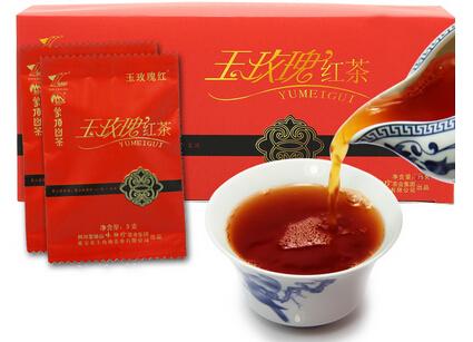 玉玫瑰红茶